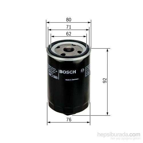 Bosch - Yağ Filtresi Vw.Bora/Golf Iv Anahtar Başlıklı - Bsc 0 986 Tf0 008