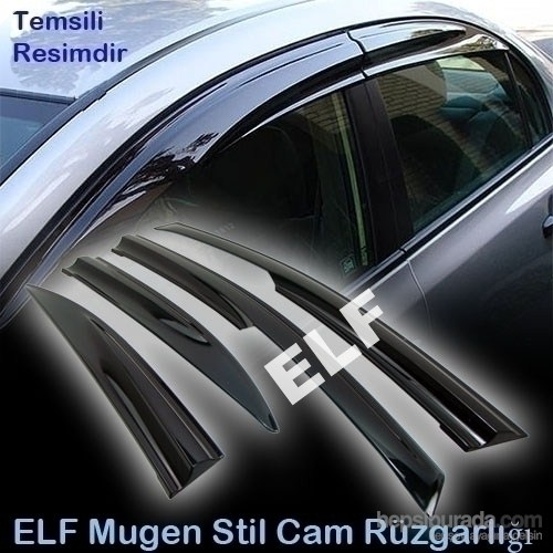 Elf Lada Samara Mugen Cam Rüzgarlığı