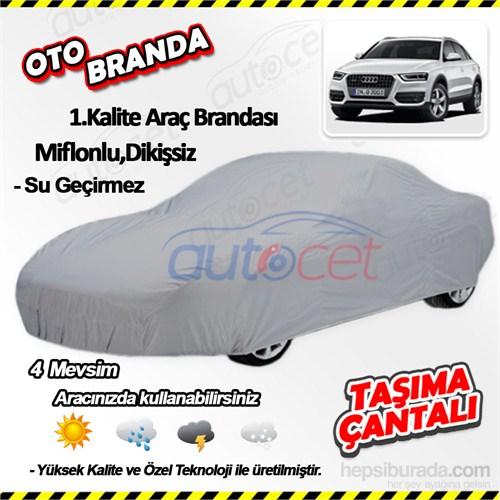 Autocet Audı Q3 Araca Özel Oto Brandası (Miflonlu, Dikişsiz) 3931A