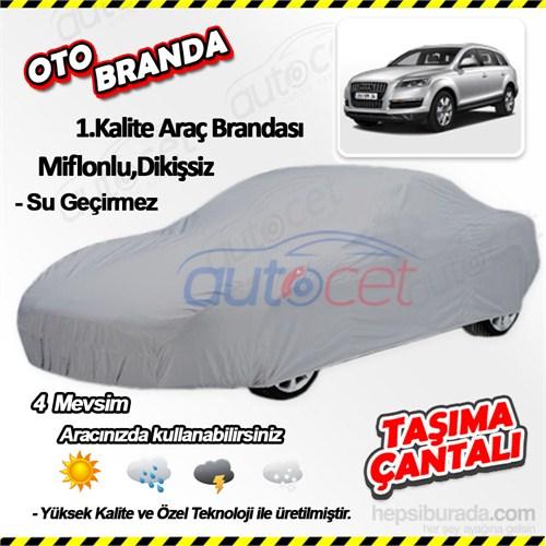 Autocet Audı Q7 Araca Özel Oto Brandası (Miflonlu, Dikişsiz) 3933A
