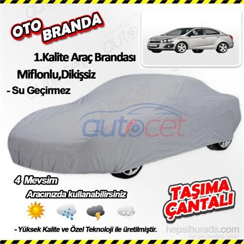 Autocet Chevrolet Aveo Araca Özel Oto Brandası (Miflonlu, Dikişsiz) 3957A