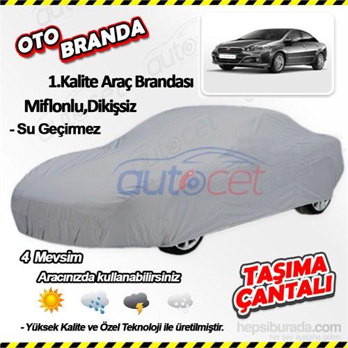 Autocet Fiat Linea Araca Özel Oto Brandası (Miflonlu, Dikişsiz) 3993A