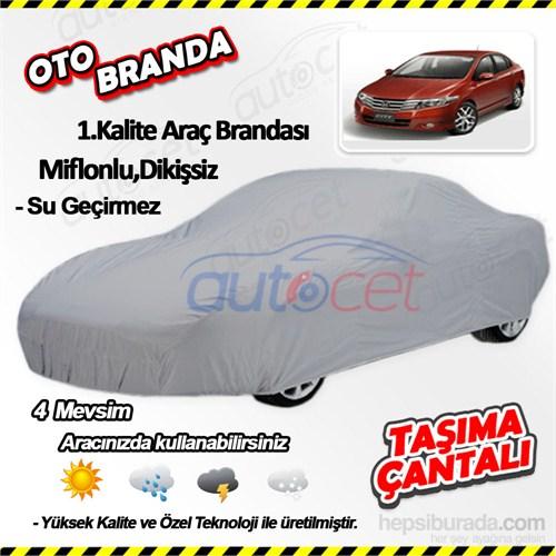 Autocet Honda City Araca Özel Oto Brandası (Miflonlu, Dikişsiz) 4010A