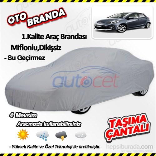 Autocet Mazda 2 Araca Özel Oto Brandası (Miflonlu, Dikişsiz) 4046A