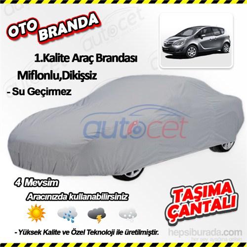 Autocet Opel Meriva Araca Özel Oto Brandası (Miflonlu, Dikişsiz) 4081A
