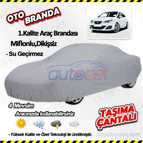 Autocet Seat Ibiza Araca Özel Oto Brandası (Miflonlu, Dikişsiz) 4121A