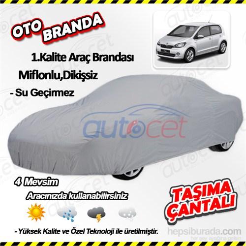 Autocet Skoda Citigo Araca Özel Oto Brandası (Miflonlu, Dikişsiz) 4124A