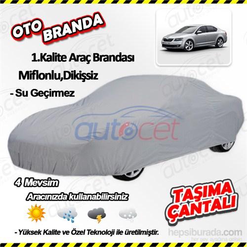 Autocet Skoda Octavia Araca Özel Oto Brandası (Miflonlu, Dikişsiz) 4126A