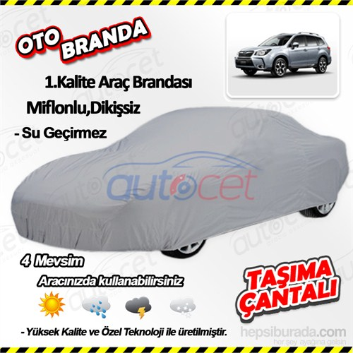 Autocet Subaru Forester Araca Özel Oto Brandası (Miflonlu, Dikişsiz) 4135A