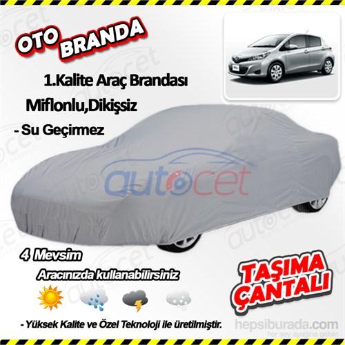 Autocet Toyota Yaris Araca Özel Oto Brandası (Miflonlu, Dikişsiz) 4152A