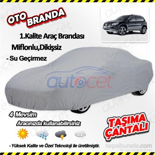 Autocet Volkswagen Tiguan Araca Özel Oto Brandası (Miflonlu, Dikişsiz) 4163A