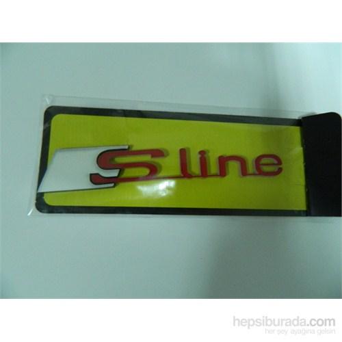 Speed S line Sticker 11x2cm Kırmızı