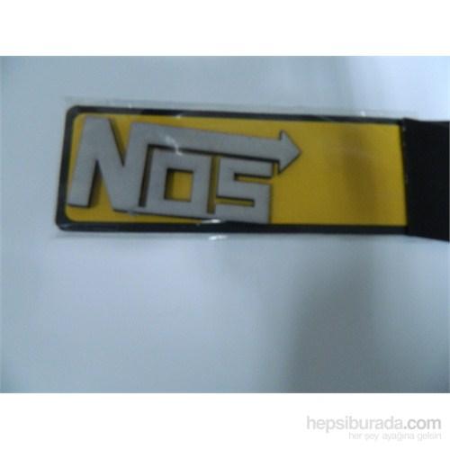 Speed Nos Sticker 9x4cm Gri