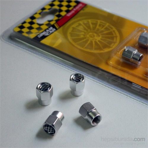 Dreamcar Aluminyum Sibop Kapağı 4'lü Set 8010008