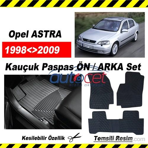 Opel ASTRA G 1998-2009 Kauçuk Ön / Arka Araca Özel Paspas Seti
