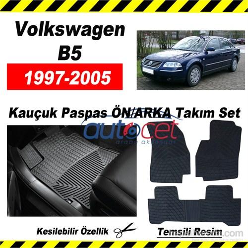 Volkswagen Passat B5 1997-2005 Kauçuk Ön / Arka Araca Özel Paspas Seti