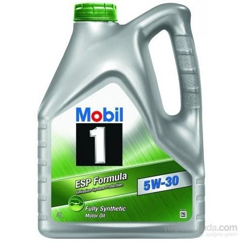 Mobil 1 ESP Formula 5W-30 4LT DPF Araçlara Uygun Benzinli Dizel Motor Yağı ( Üretim Yılı : 2017 )