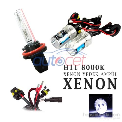 AutoCet H11 8000K Xenon Yedek Ampulü 2922a