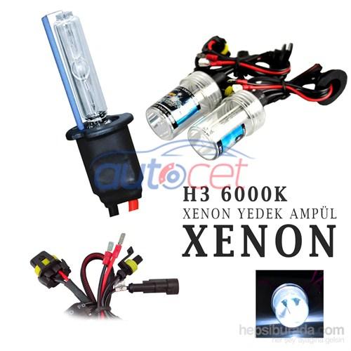 AutoCet H3 6000K Xenon Yedek Ampulü 2925a