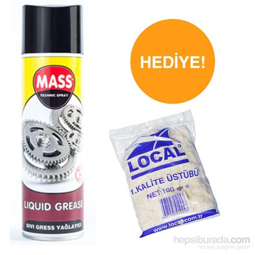 Mass Sıvı Gres 500 Ml