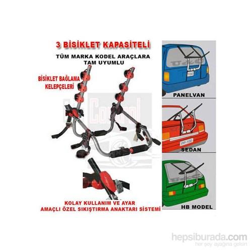 3 Bisiklet Taşıma Kapasiteli Terminatör