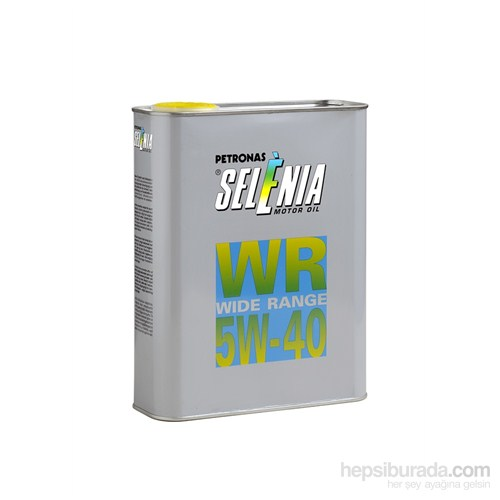 Petronas Selenia WR Diesel 5W/40 3,2Lt Dizel Motor Yağı
