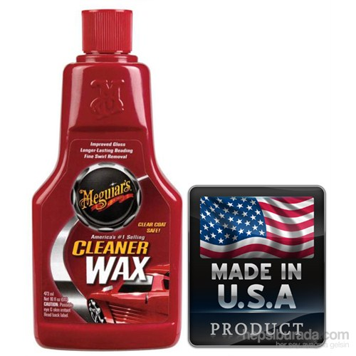 Meguiars Cleaner Wax Temizleyici ve Koruyucu Sıvı Cila 851216