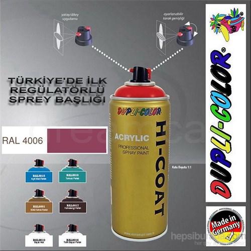 Dupli-Color Hi-Coat Ral 4006 Parlak Bor Akrilik Sprey Boya 400 Ml. Made in Germany 406614