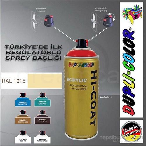 Dupli-Color Hi-Coat Ral 1015 Parlak Koyu Fildişi Akrilik Sprey Boya 400 Ml. Made in Germany 406348