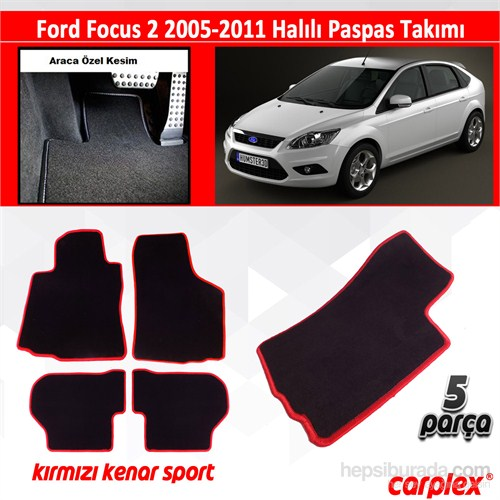 Carplex ford focus 2 hal l oto paspas seti k rm z fiyat for Car plex