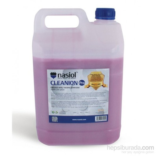 Nasiol CLEANION Fırçasız Araç Yıkama Şampuanı Konsantre 5 Kg 098888