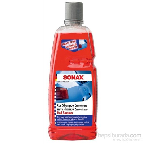 Konsantre Şampuan Kırmızı Yaz 1 L