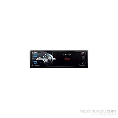 Pıranha Charger W Type Radyolu USB/ SD Kart Girişli Oto MP3 Çalar