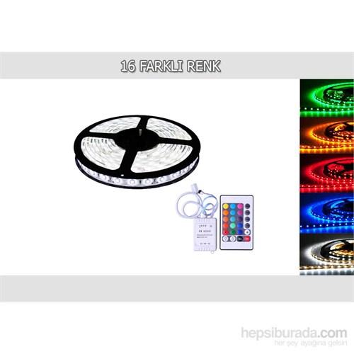 AutoCsi 16 Renk 5MT RGB Dış Mekan Şerit Led Kumandalı