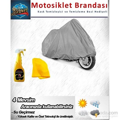 Schwer Mondial 250 Mct Çantalı Araca Özel Motorsiklet Brandası