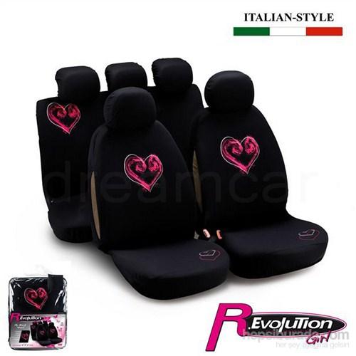 Bottari Revolution My Black Heart Koltuk Kılıfı 29002