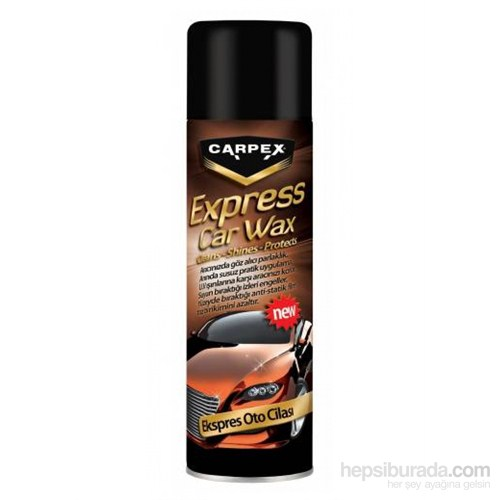 CARPEX EXPRESS CAR WAX CİLA 500ml