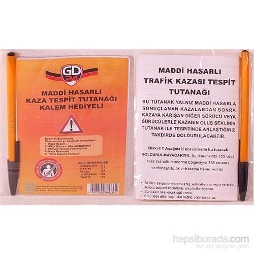 GD24 Trafik Kazası Tespit Tutanağı