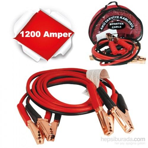 Aksan Akü Takviye Kablosu 1.Sınıf 1200 Amp