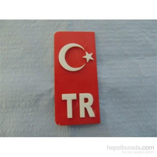 Carat Pleksi TR & Türk Bayrağı 2 Adet 01513