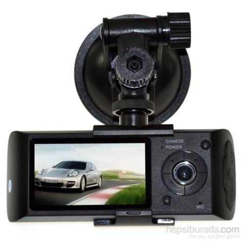 Twogo Go-3000 Çift G Sensor Dvr Camera+Gps Anten Hediyeli