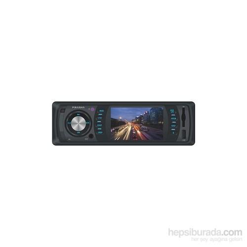 Piranha Charger M Type-Radyolu / USB / SD Kart Girişli / Mp5 Çalar