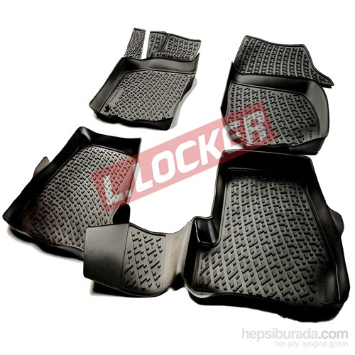 L.Locker Peugeot 4008 3D Havuzlu Paspas