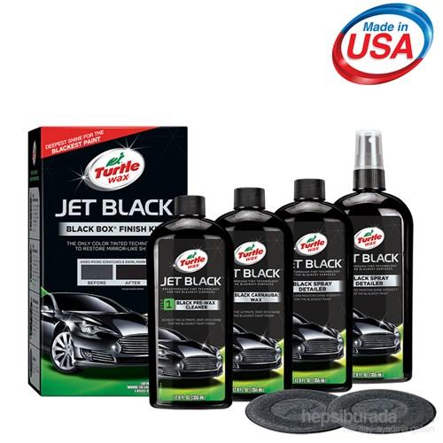 Turtle Wax Jet Black Siyah Araç Bakım Seti