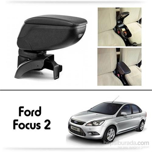 Schwer Ford Focus 2 Koltuk Arası SİYAH Kol Dayama Kolçağı-8420