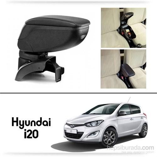 Schwer Hyundai i20 Koltuk Arası SİYAH Kol Dayama Kolçağı-8428