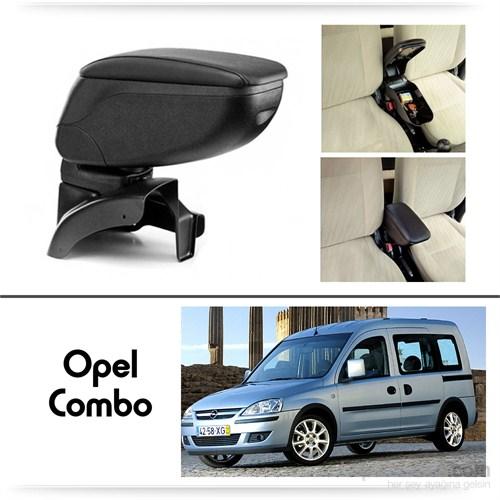 Schwer Opel Combo Koltuk Arası SİYAH Kol Dayama Kolçağı-8434