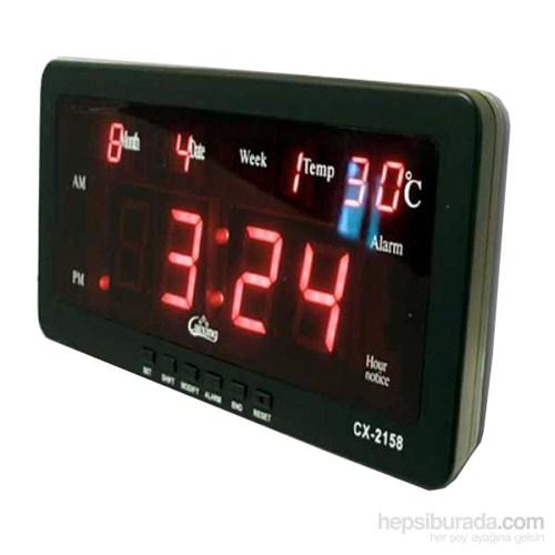 CxClock Led Dijital Saat Tarih Alarm Sıcaklık 458806