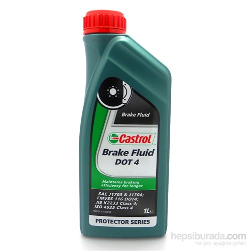 Castrol Brake Fluid Dot 4 - 500ML - Fren Sıvısı