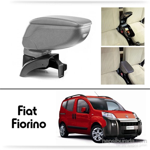 Schwer Fiat Fiorino Koltuk Arası GRİ Kol Dayama Kolçağı-8461